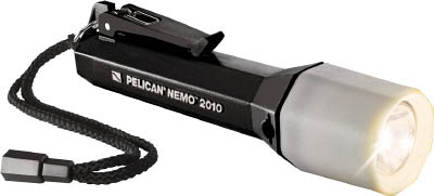 【PELICAN】PELICAN ニモ 2010N 黒 リコイルLEDライト 2010NBK[PELICAN LEDライト工事用品作業灯・照明用品懐中電灯]【TN】【TC】 P01Jul16