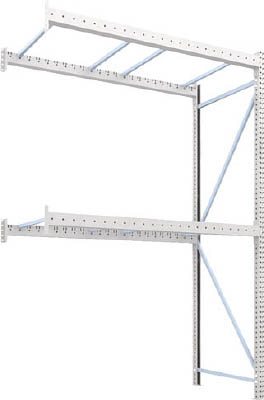 【5の倍数日はポイント最大+9倍】【取寄品】【TRUSCO】TRUSCO パレットラック2トン用2300X1100XH3500 2段 連結 2D35L23112B[TRUSCO パレットラック物流保管用品物品棚パレットラック]【TN】【TC】 P01Jul16