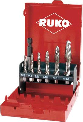 【RUKO】RUKO 六角軸タッピングドリル セット 270020[RUKO ドリル切削工具ねじ切り工具ハンドタップ]【TN】【TC】 P01Jul16