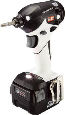 【MAX】MAX 14.4V充電式インパクトドライバ ホワイト PJID144WB2C40AMAX 電動工具作業用品電動工具・油圧工具インパクトドライバー【TN】【TC】