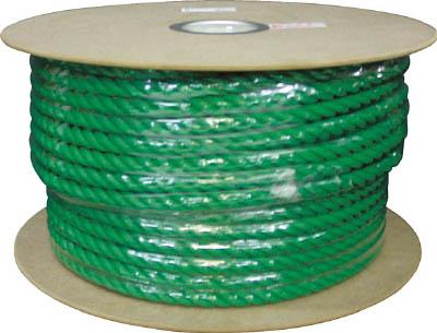 ユタカ PEカラーロープドラム巻 16φ×100m PRE163ユタカ ロープ環境安全用品シート・ロープロープ【TN】【TC】