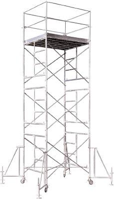 【取寄品】【アルインコ】アルインコ ローリングタワー2段 RT2FXZアルインコ ローリングタワー工事用品はしご・脚立高所作業台【TN】【TC】