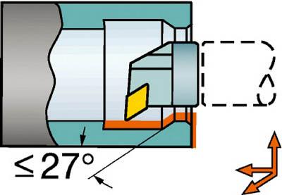 【サンドビック】サンドビック コロターンSL 570カッティングヘッド R571.35C40322715サンドビック ホルダー切削工具旋削・フライス加工工具ホルダー【TN】【TC】
