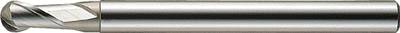 三菱K 2枚刃KHAスーパーボールエンドミル S2MBR1000三菱K ハイスエンドミル切削工具旋削・フライス加工工具ハイスボールエンドミル【TN】【TC】