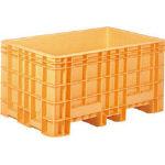 【取寄品】サンコー ジャンボックス本体#500オレンジ SK500ORサンコー コンテナ物流保管用品コンテナ・パレットボックス型コンテナ【TN】【TC】