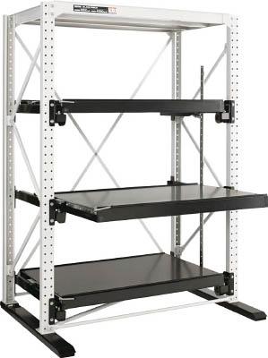 【取寄品】ダイフク スライドラック 1トン ハーフストローク追加棚 SLNFH1TZNダイフク 重量棚物流保管用品物品棚金型収納ラック【TN】【TC】