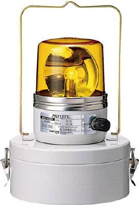 【取寄品】パトライト 電池式回転灯 イエロー SKHB1006MDYパトライト 回転灯生産加工用品電気・電子部品表示灯【TN】【TC】