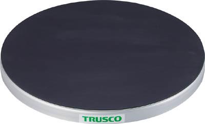 TRUSCO 回転台 50Kg型 Φ400 ゴムマット張り天板 TC4005GTRUSCO 回転作業物流保管用品作業台回転台【TN】【TC】