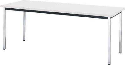 【取寄品】TRUSCO 会議用テーブル 1200X600XH700 角脚 下棚無 ホワイト TD1260WTRUSCO FUテーブルオフィス住設用品オフィス家具会議用テーブル【TN】【TD】