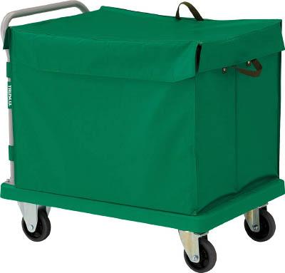 TRUSCO グランカート 蓋付ハンドトラックボックス付 900X605 TP902THBTRUSCO HO運搬車物流保管用品運搬台車樹脂製運搬車【TN】【TC】