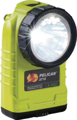 【PELICAN】PELICAN 3715 LEDフラッシュライト 黄 3715LEDYE[PELICAN LEDライト工事用品作業灯・照明用品懐中電灯]【TN】【TC】 P01Jul16
