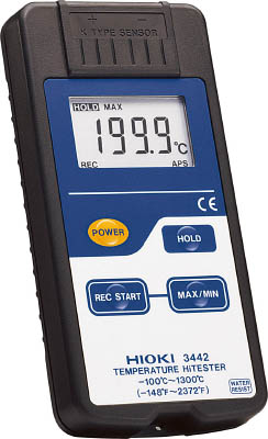 【HIOKI】HIOKI デジタル温度計 3442[HIOKI 測定器(A)生産加工用品計測機器温度計・湿度計]【TN】【TC】 P01Jul16