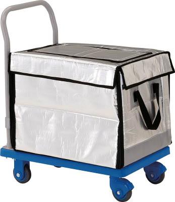 TRUSCO グランカート サイレント 保冷ハンドトラックボックス付 718X4 TPX702THBCTRUSCO HO運搬車物流保管用品運搬台車樹脂製運搬車【TN】【TC】