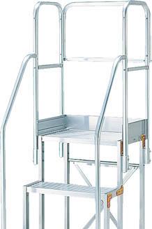 TRUSCO 作業用踏台用手すり H900 階段両手すり天場三方 TSF-256 TSFTE20TRUSCO 脚立           工事用品はしご・脚立作業用踏台【TN】【TC】