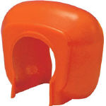 TRUSCO 単管クランプカバー 100個入 オレンジ TTCKORTRUSCO 安全用品         環境安全用品安全用品工事用フェンス【TN】【TC】