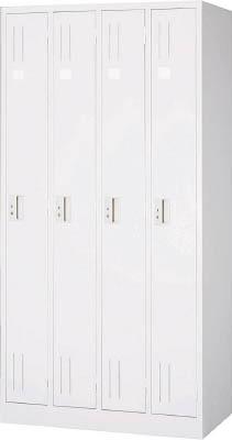 【取寄品】【TRUSCO】TRUSCO スタンダードロッカー 4人用 900X515XH1790 W色 WL47[TRUSCO ALロッカーオフィス住設用品オフィス家具ロッカー]【TN】【TC】