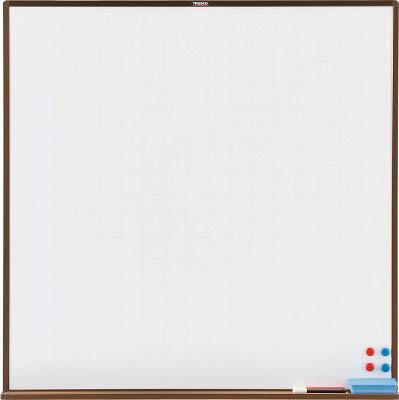 【取寄品】【TRUSCO】TRUSCO スチール製ホワイトボード 白暗線 ブロンズ 900X900 WGH33SA[TRUSCO 黒板K        オフィス住設用品OA・事務用品オフィスボード]【TN】【TC】