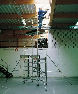 【取寄品】【アルインコ】アルインコ 移動式アルミ作業台 3.5m 最大使用質量150kg WTF123[アルインコ 梯子工事用品はしご・脚立高所作業台]【TN】【TC】