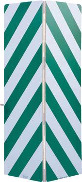 【ワコー】ワコー セーフティーガード白色・緑色448mm×1440mm WSG144G[ワコー パレット環境安全用品安全用品安全クッション]【TN】【TC】