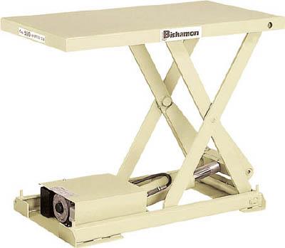 【取寄品】【ビシャモン】ビシャモン テーブルリフト ちびちゃんシリーズ X75AB[ビシャモン テーブルリフト物流保管用品リフター・ハンドパレットテーブルリフト]【TN】【TD】