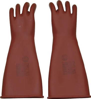 【取寄品】【YOTSUGI】YOTSUGI 高圧ゴム手袋 405MM 中 YS1012802[YOTSUGI 保護具環境安全用品保護具耐電保護具]【TN】【TC】