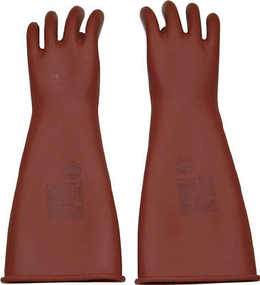 【取寄品】【YOTSUGI】YOTSUGI 高圧ゴム手袋 455MM 中 YS1012201[YOTSUGI 保護具環境安全用品保護具耐電保護具]【TN】【TC】