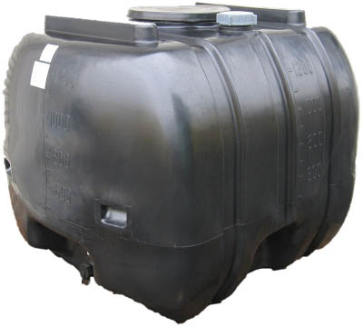 【取寄品】【ダイライト】ダイライト YB型 黒色 ローリータンク 1300L YB1300[ダイライト タンク物流保管用品コンテナ・パレットタンク]【TN】【TD】