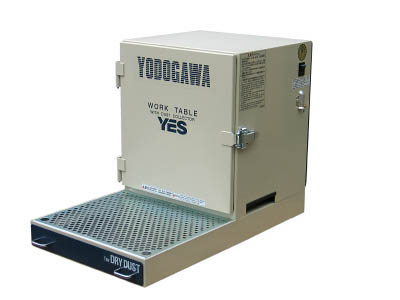 【取寄品】【淀川電機】淀川電機 集塵装置付作業台(卓上タイプ) YES300LDA[淀川電機 集塵機オフィス住設用品環境改善機器集じん機]【TN】【TC】
