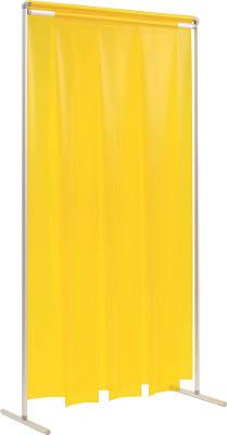 【吉野】吉野 クグレール 遮光用衝立のれん型1×2 キャスター無しグリーン YS12SFKGG[吉野 溶接シート工事用品溶接用品溶接遮光フェンス]【TN】【TD】