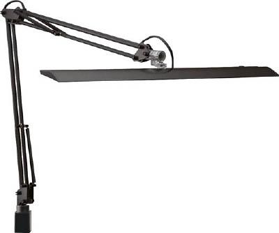 【山田】山田 LEDアームスタンド ブラック Z10NB[山田 照明器具工事用品作業灯・照明用品電気スタンド]【TN】【TC】