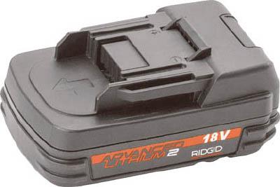 【RIDGE】RIDGE 18V 2.0Ah リチウムイオンバッテリー 44693[RIDGE 検査カメラ作業用品水道・空調配管用工具管内検査用品]【TN】【TC】 P01Jul16