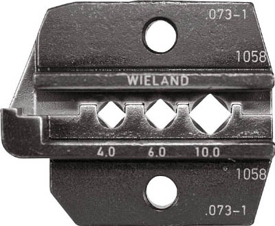 【RENNSTEIG】RENNSTEIG 圧着ダイス 624-073-1 Wieland 4.0-10 624073130[RENNSTEIG ハンドツール作業用品電設工具圧着工具]【TN】【TC】 P01Jul16