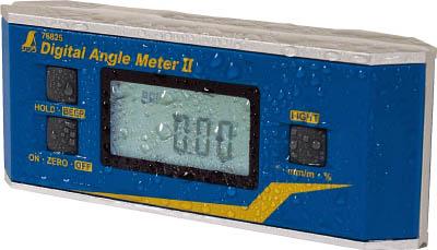 【シンワ】シンワ デジタルアングルメーター2防塵防水マグネット付 76826[シンワ 測定工具工事用品測量用品勾配計]【TN】【TC】 P01Jul16