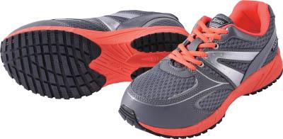 【ジーベック】ジーベック 蛍光めちゃ軽セフティシューズ 85130 グレー 22.0CM 8513020220[ジーベック 靴環境安全用品安全靴・作業靴プロテクティブスニーカー]【TN】【TC】 P01Jul16