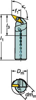 サンドビック コロターン107 ポジチップ用ボーリングバイト A16RSVQCL11ER ホルダー切削工具旋削 賜物 TN 新品 送料無料 TC P01Jul16 フライス加工工具ホルダー