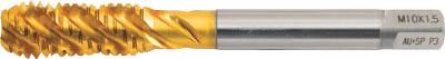 【ヤマワ】ヤマワ チタンコーティングスパイラルタップ 止り穴用AU-SP M12X1.5 AUSPP3M12X1.5[ヤマワ タップA切削工具ねじ切り工具スパイラルタップ]【TN】【TC】 P01Jul16