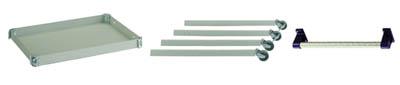【TRUSCO】TRUSCO 天板フレーム3点基本セット D81【ツールワゴン/アングル式ワゴン/トラスコ中山/ツールワゴン(組み合わせ式)/コンビネーションワゴン用 天板フレーム3点基本セット/トラスコ/】【TC】【TN】