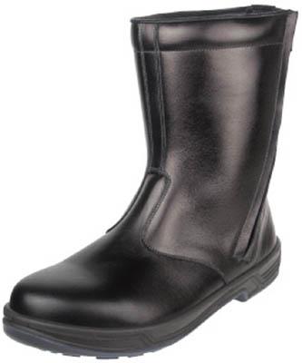 【シモン】シモン 安全靴 半長靴 8544黒 25.5cm 8544BK25.5【保護具/安全靴/半長靴】【TC】【TN】