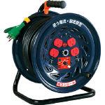 【日動】コードリール(単相100Vタイプ)FC-E34【特殊機能付電工ドラム(アース付)/コードリール】【TC】 P19Jul15