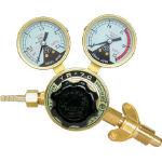 【ヤマト】全真鍮製酸素調整器 YR-70(関西式) N-YR70-W【TN】【TC】【ヤマト産業/ガス調整器/酸素調整器】