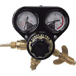 【ヤマト】乾式安全器内蔵型調整器 SSボーイウルトラ(OX)関西式 N-SSBUR-OX-W【TN】【TC】【ヤマト産業/ガス調整器/酸素調整器SSウルトラ】