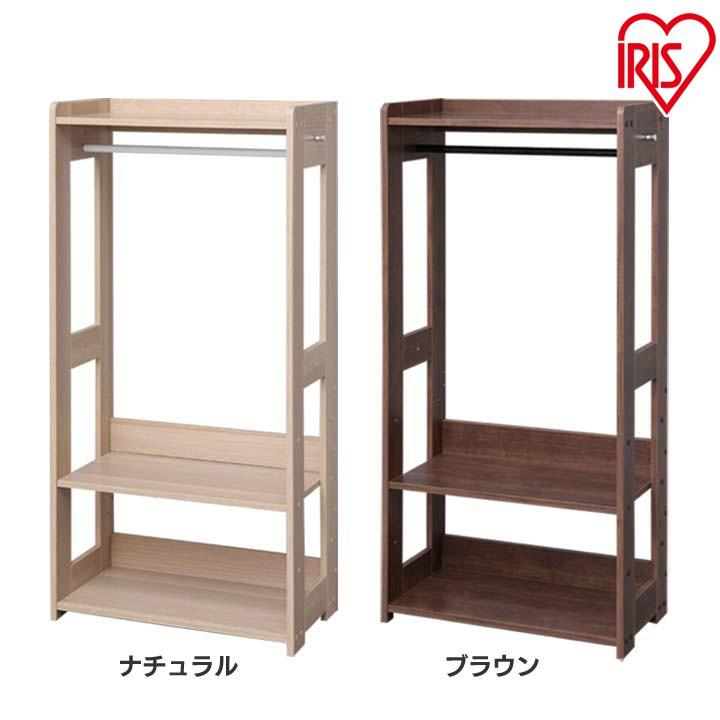送料無料 木製ワードローブ KWR-1260 ナチュラル アイリスオーヤマ【時間指定不可】