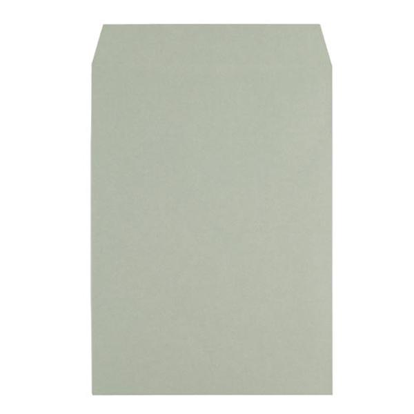 カラークラフト封筒 角2 グレー【J】【TC】【イムラ封筒】