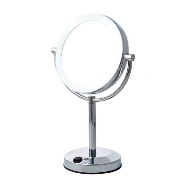 【送料無料】オルゴ 真実の鏡DX両面型 EC005AC-5X 【B】【KM】【TC】〔ミラー・拡大鏡・スタイリッシュ・回転機能・角度調節・プロ仕様・メイク〕 P19Jul15