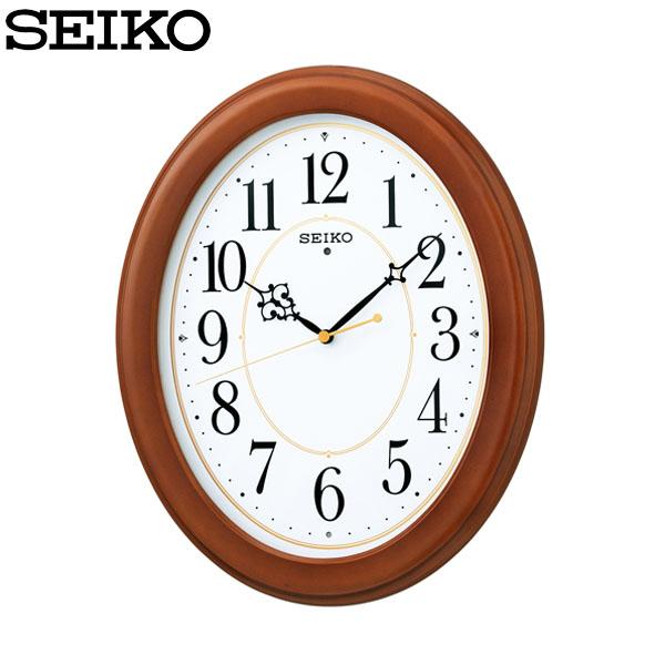 【送料無料】セイコー 電波掛時計 KX390B SEIKO【TC】【HD】【時計 ブランド 掛時計 新生活】