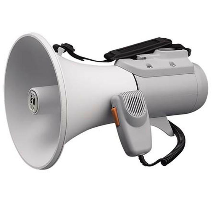 【残り1点!】ショルダーメガホン 15W ライトグレー ER-2115 送料無料 メガホン 拡声器 ショルダー ハンドマイク メガホンショルダー メガホンハンドマイク 拡声器ショルダー ショルダーメガホン ハンドマイクメガホン ショルダー拡声器 TOA 【TC】