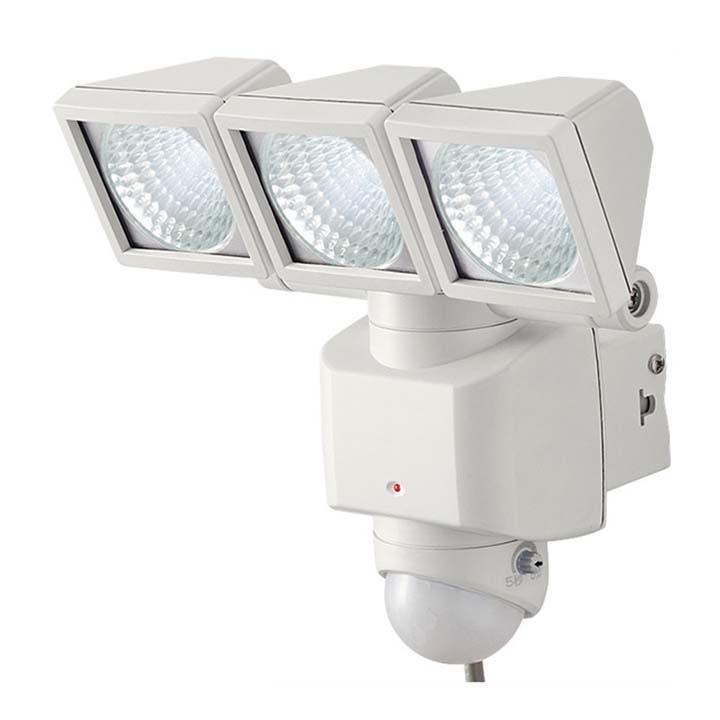 LEDセンサーライト ホワイト DLA-3T400センサー付き 灯 らいと 照明 センサー付きらいと センサー付き照明 灯らいと らいとセンサー付き 照明センサー付き らいと灯 (株)大進 【D】