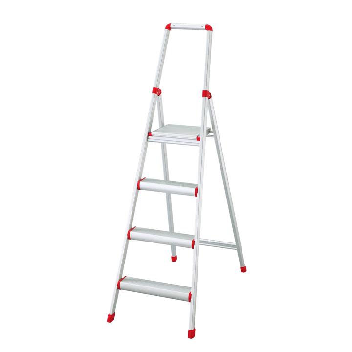 上枠付踏台サルボ シルバー SRA-11送料無料 ステップ はしご 脚立 梯子 ステップ脚立 ステップ梯子 はしご脚立 脚立ステップ 梯子ステップ 脚立はしご 長谷川工業 【D】【時間指定不可】