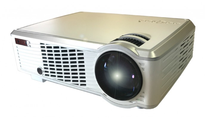 LEDホームプロジェクター RA-P2000送料無料 家庭用 投影 映像 出力 ラマス 【D】