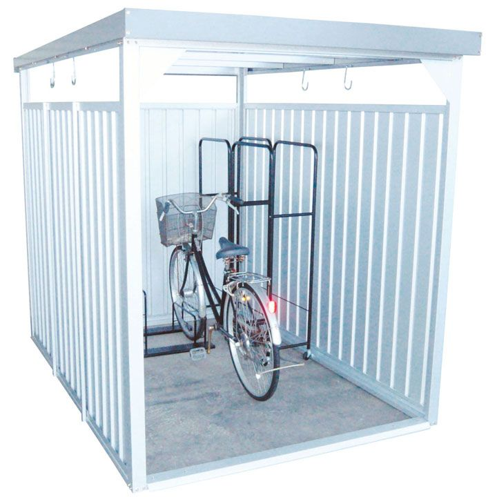 万能物置 ロング シルバー DM-11L送料無料 物置 小屋 自転車 屋外 多目的 ダイマツ 【TD】 【代引不可】